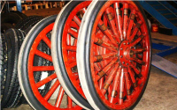 Antique Wheels | Overman Cushion Tire Co