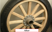 Antique Tire Restore | Overman Cushio Tire Co