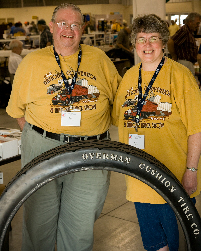 Antique Solid Rubber Tires | Overman Cushio Tire Co